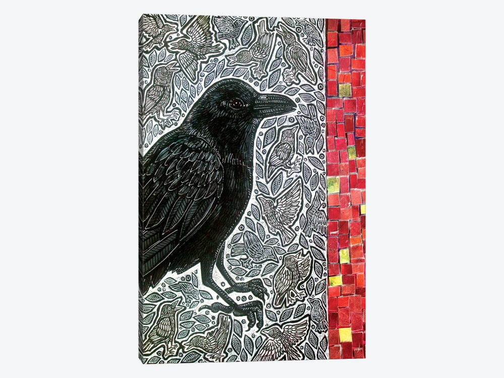 Counting Crows by Lynnette Shelley 1-piece Canvas Wall Art