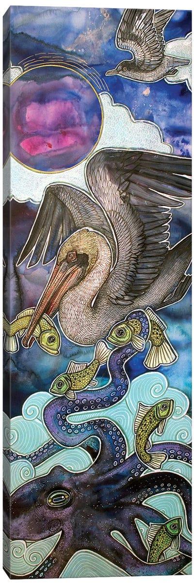 Between Sea And Sky Canvas Art Print