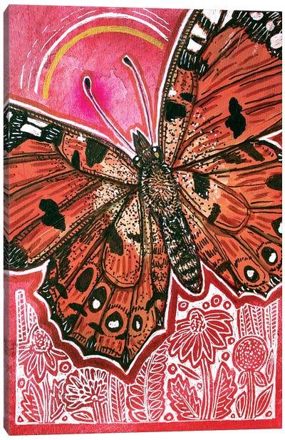 On The Fly Canvas Art Print