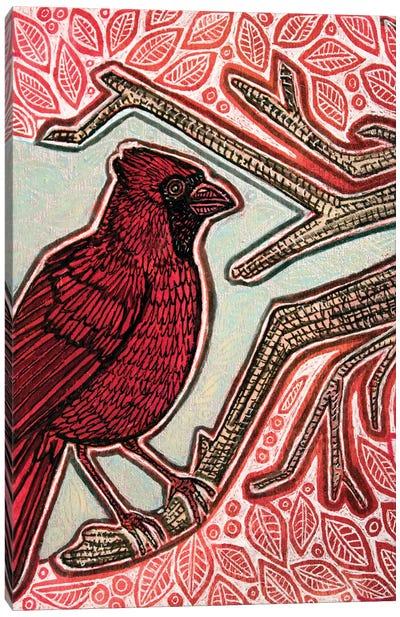 Northern Cardinal Canvas Art Print
