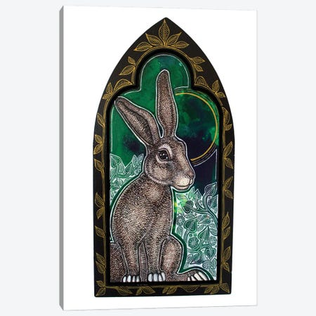 Wild Rabbit On The Green Canvas Print #LSH397} by Lynnette Shelley Canvas Art