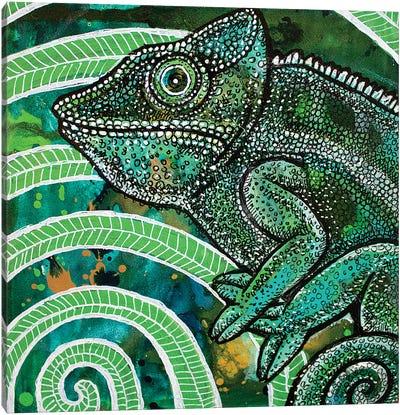 Hidden Chameleon Canvas Art Print