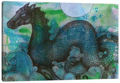 Loch Ness Monster Canvas Art Print