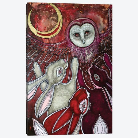 Moondancers Canvas Print #LSH59} by Lynnette Shelley Canvas Artwork