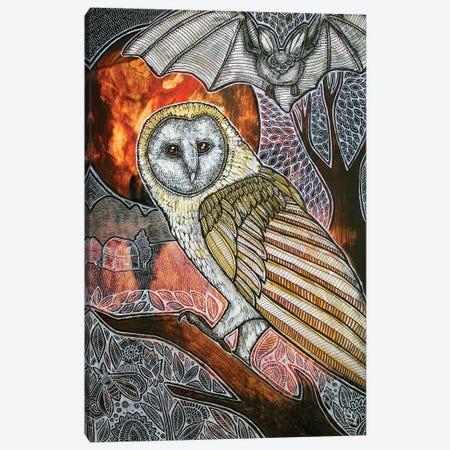 Night Life Canvas Print #LSH64} by Lynnette Shelley Canvas Artwork