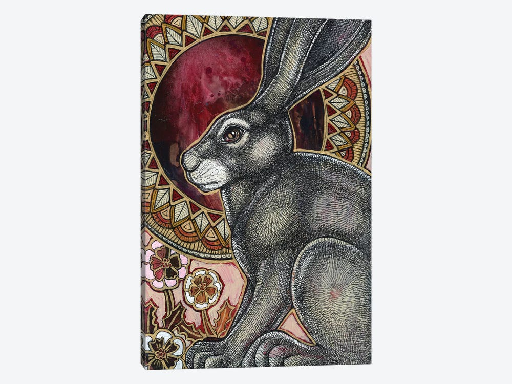 Sacred Hare  by Lynnette Shelley 1-piece Canvas Artwork