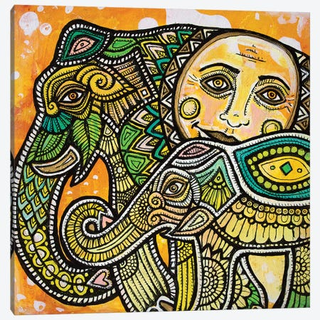 Sunnier Days Ahead Canvas Print #LSH94} by Lynnette Shelley Art Print