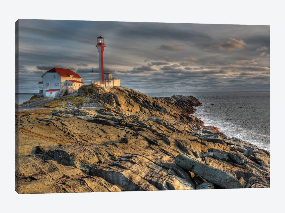 Cape Forchu Lightstation, Yarmouth, Nova Scotia, Gulf Of Maine, Canada by Scott Leslie 1-piece Canvas Wall Art