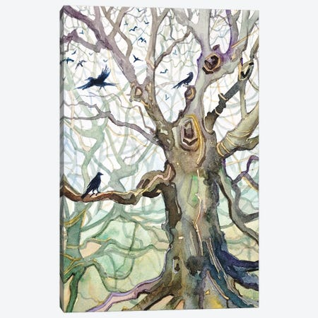 Wistmans Wood Canvas Print #LSM104} by Luisa Millicent Art Print