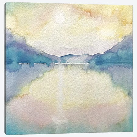 Isle Of Arran - Early Morning Canvas Print #LSM131} by Luisa Millicent Canvas Art Print