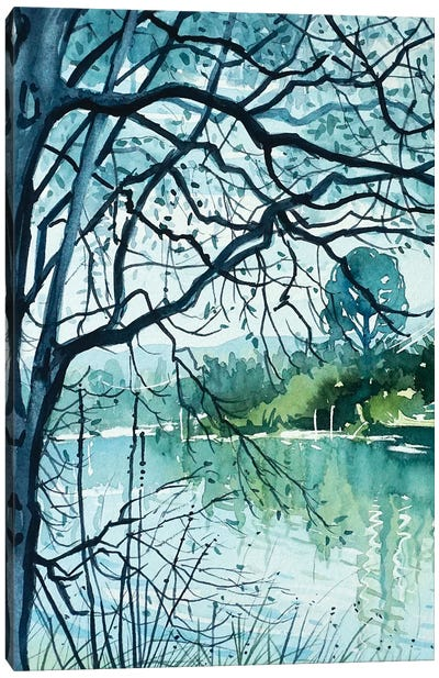 March Morning Canvas Art Print