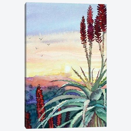 Topanga Sunset #4 Canvas Print #LSM147} by Luisa Millicent Art Print