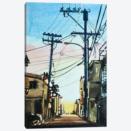 November Twilight Canvas Print #LSM154} by Luisa Millicent Canvas Artwork