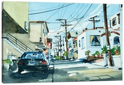 Manhattan Beach 30th Place Canvas Art Print