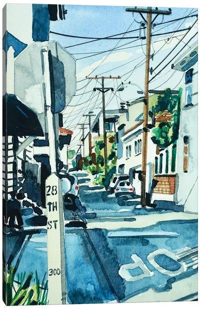 Bayview Drive 90266 Canvas Art Print