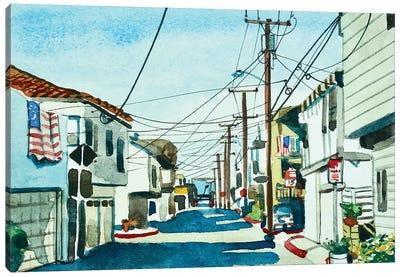 Ocean Street El PORTO Canvas Art Print