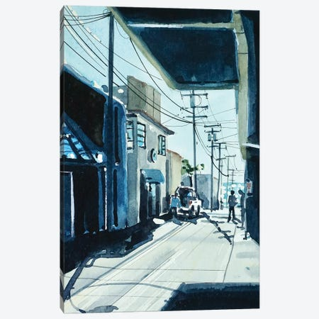 90266 ALLEY #3 Canvas Print #LSM161} by Luisa Millicent Canvas Wall Art