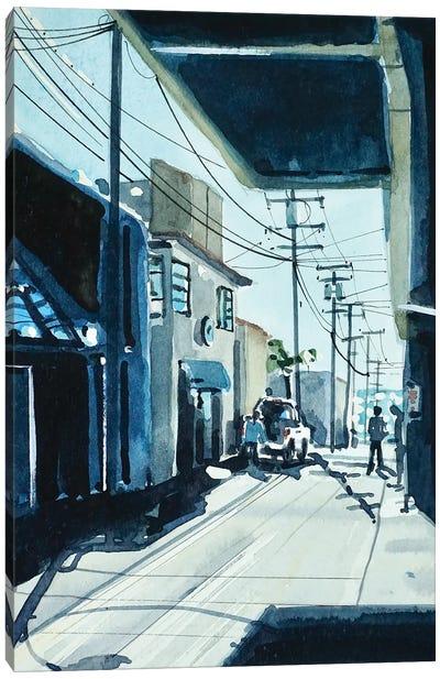 90266 ALLEY #3 Canvas Art Print