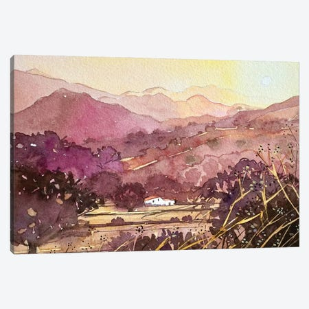 King Gillette Ranch Malibu Canvas Print #LSM164} by Luisa Millicent Canvas Print