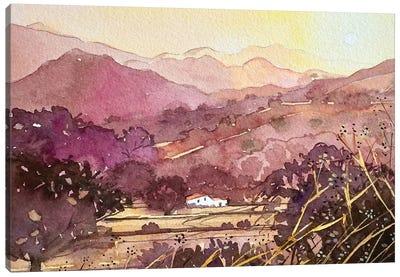 King Gillette Ranch Malibu Canvas Art Print