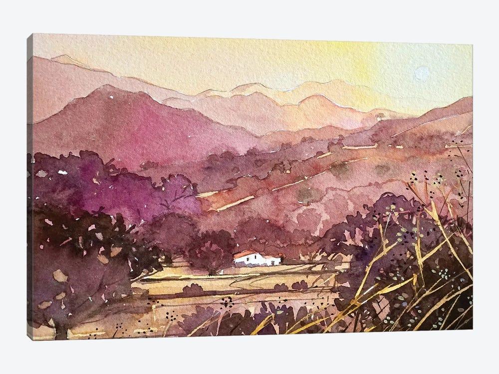 King Gillette Ranch Malibu by Luisa Millicent 1-piece Canvas Art