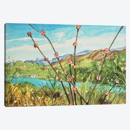 Wand Buckwheat Canvas Print #LSM169} by Luisa Millicent Canvas Artwork