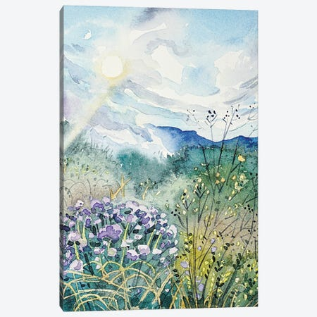 A Sunny Spring Day In Topanga Canvas Print #LSM16} by Luisa Millicent Canvas Artwork