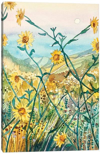 Yellow Daisies Canvas Art Print