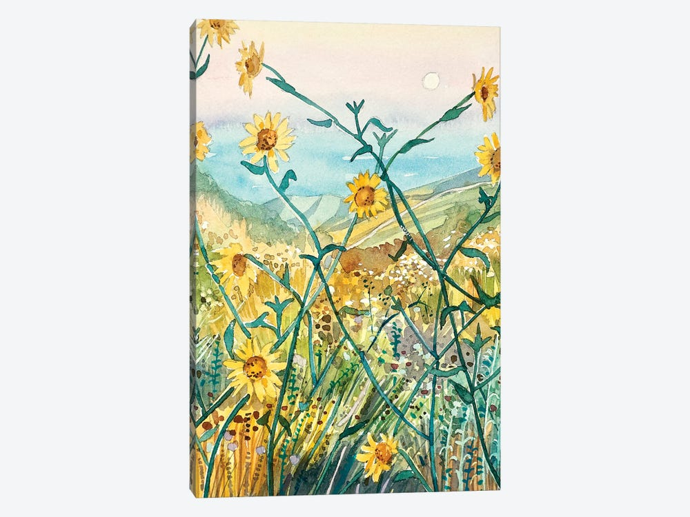 Yellow Daisies by Luisa Millicent 1-piece Art Print