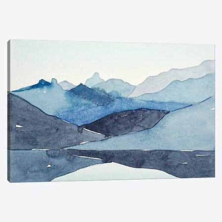 Blue Hills Canvas Print #LSM17} by Luisa Millicent Canvas Artwork