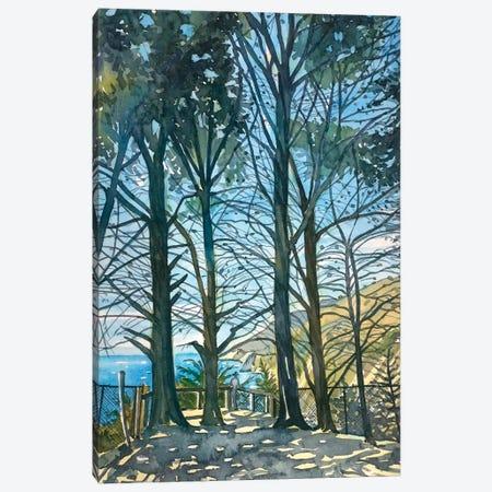 Ragged Point Sunshine Canvas Print #LSM191} by Luisa Millicent Art Print