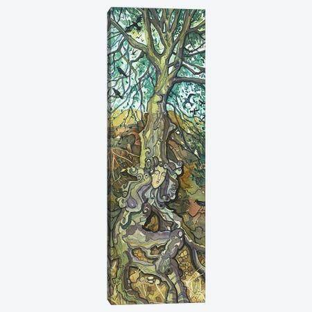 Oak Lady Of Lake Vista Canvas Print #LSM194} by Luisa Millicent Canvas Wall Art