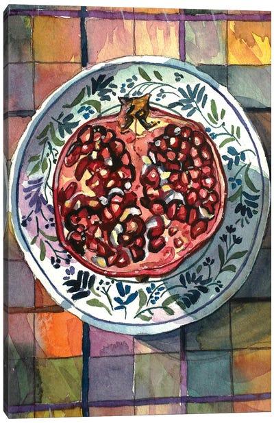 Pomegranate Delight Canvas Art Print