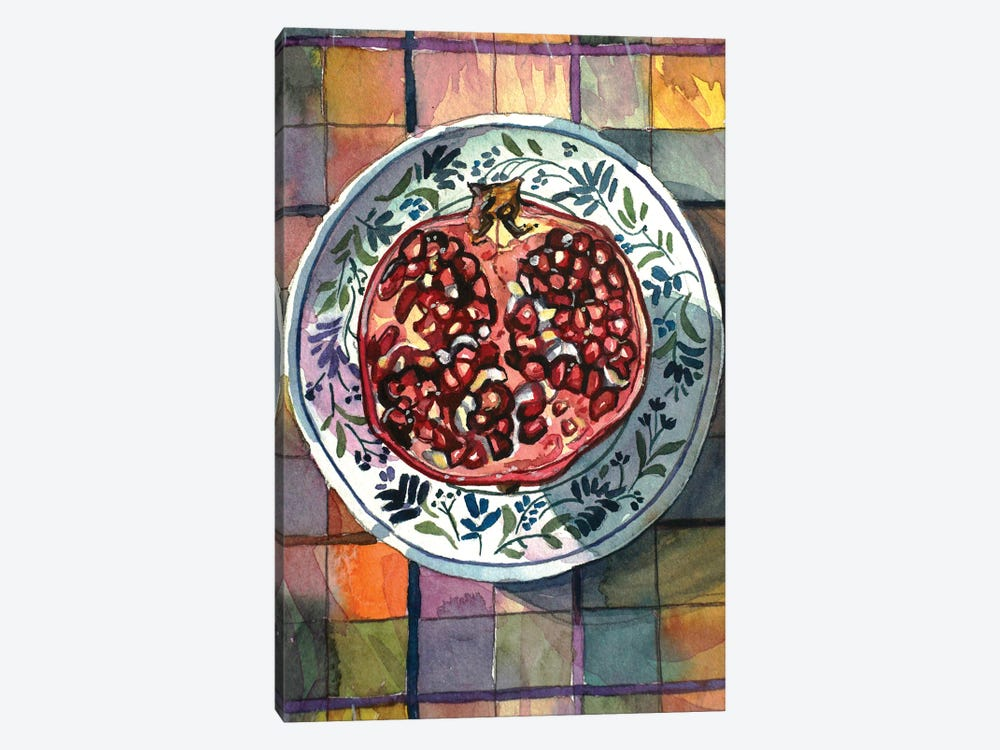 Pomegranate Delight by Luisa Millicent 1-piece Canvas Artwork