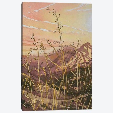 Golden Canyon Light Canvas Print #LSM206} by Luisa Millicent Canvas Wall Art