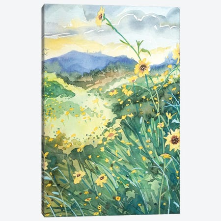Topanga Spring Canvas Print #LSM211} by Luisa Millicent Canvas Art