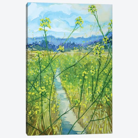 The Path Back Home Canvas Print #LSM222} by Luisa Millicent Canvas Print
