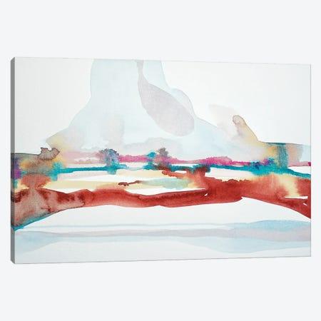 Desert Downpour Canvas Print #LSM26} by Luisa Millicent Canvas Art Print
