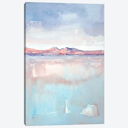 Isle Of Arran - Sunset Canvas Print #LSM45} by Luisa Millicent Canvas Art Print
