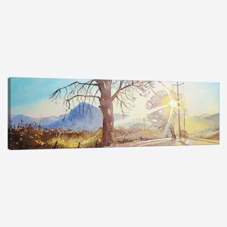 Mulholland - Golden Hour Canvas Print #LSM59} by Luisa Millicent Canvas Print