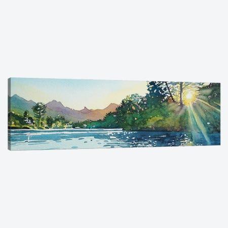 Spring Sunshine - Malibou Lake Canvas Print #LSM79} by Luisa Millicent Art Print