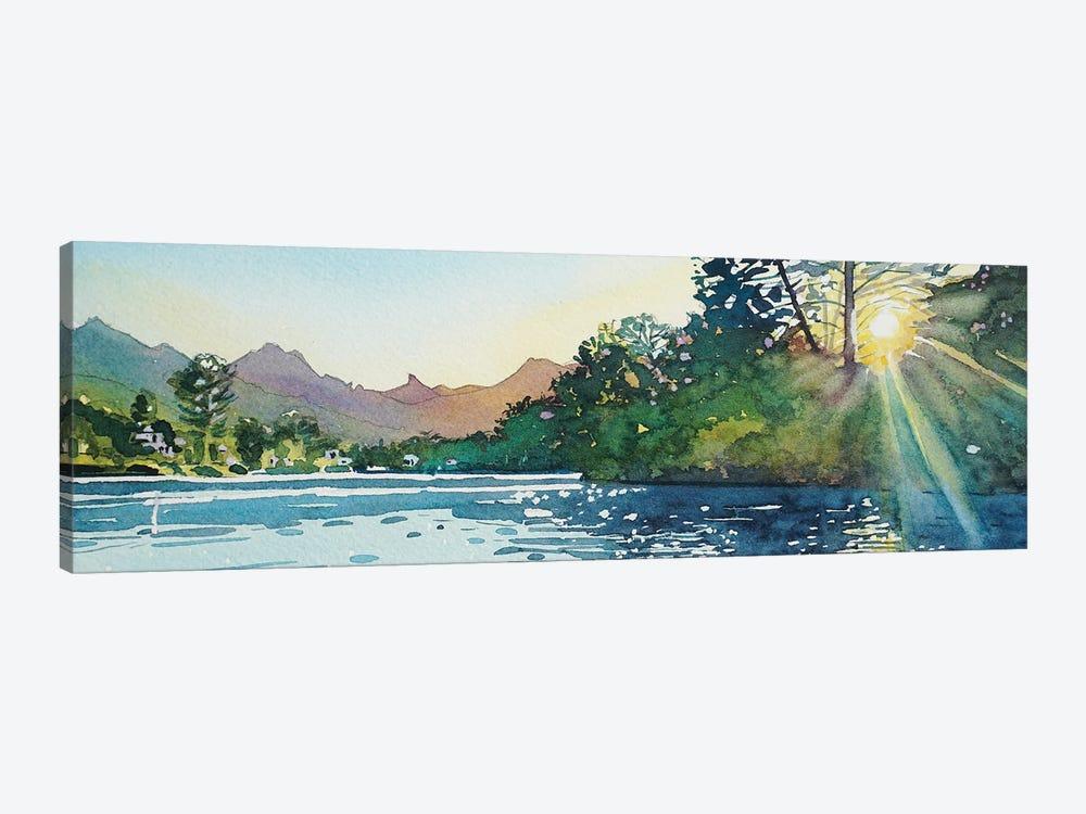 Spring Sunshine - Malibou Lake by Luisa Millicent 1-piece Art Print