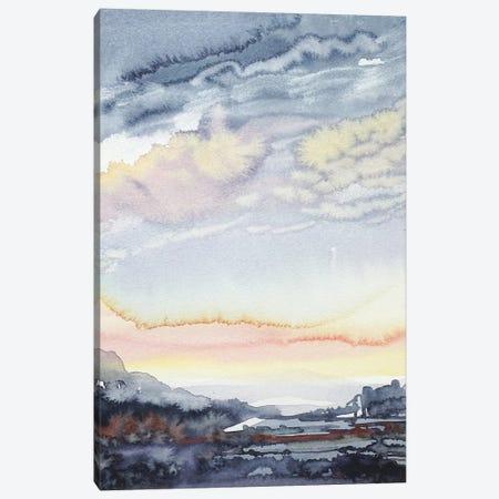 Stormy Skies Canvas Print #LSM82} by Luisa Millicent Canvas Artwork