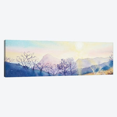 Sugarloaf Mountain At Sunset Canvas Print #LSM84} by Luisa Millicent Art Print