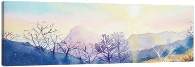 Sugarloaf Mountain At Sunset Canvas Art Print