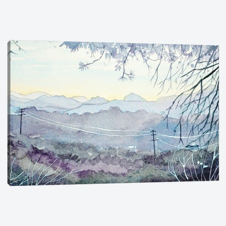 Sundown Over King Gillette Ranch Canvas Print #LSM85} by Luisa Millicent Canvas Print