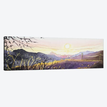 Mulholland Sunset Canvas Print #LSM86} by Luisa Millicent Art Print