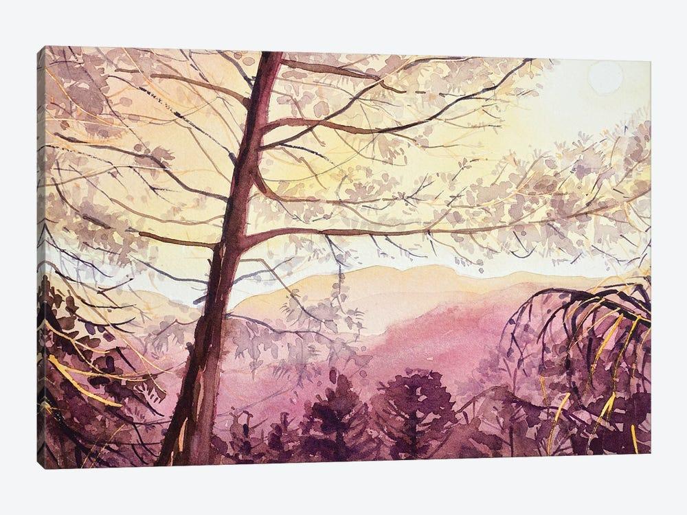 Skyline Sunset - Topanga by Luisa Millicent 1-piece Canvas Artwork