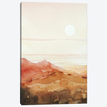 The Heat Of The Day Canvas Print #LSM92} by Luisa Millicent Canvas Art Print