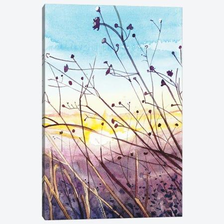 Topanga Sunset Canvas Print #LSM96} by Luisa Millicent Canvas Artwork